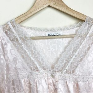 DIOR • Vintage Christian Dior Nightgown